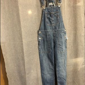 NWT Gap denim overalls